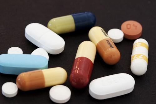 Лекарства в таблетках