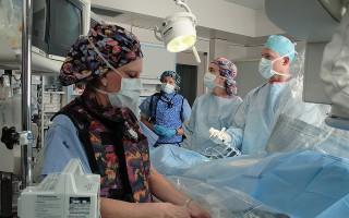 Операция кисты яичника