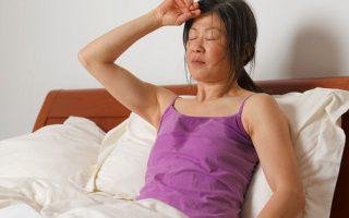 Женщина в период менопаузы