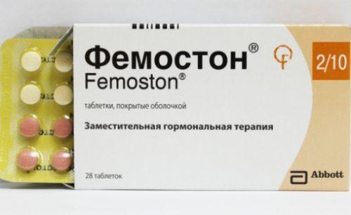 Фемостон раннем климаксе: действие на организм
