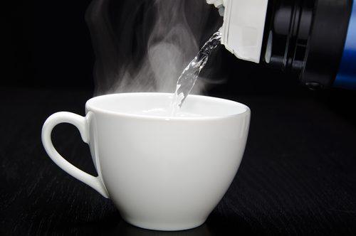 Чашка горячей воды