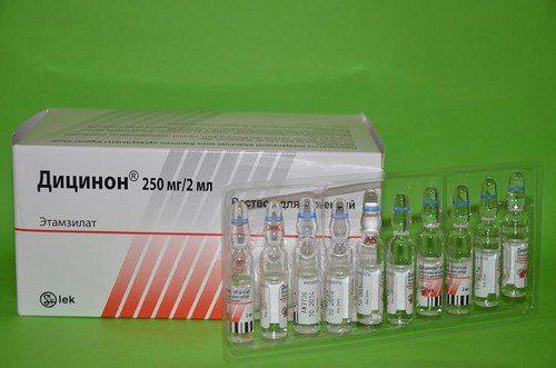Дицинон при месячных: инструкция по применению