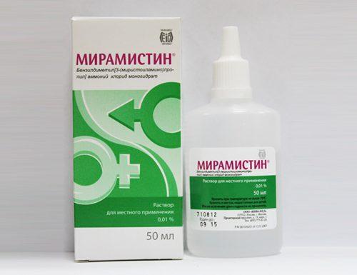 Мирамистин при молочнице: применение, мери предосторожности