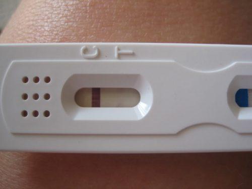 Негативный тест на беременность