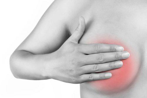 Боль в грудных железах