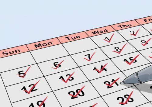 Месячние: рассчитать правильно менструальний цикл