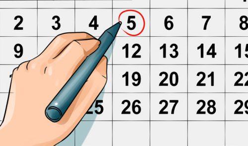Рассчитать месячние: когда начинается менструальний цикл