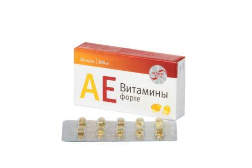 Витамины А и Е