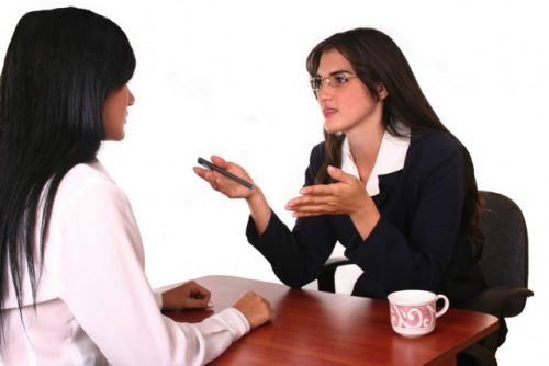 Женщина у психоаналитика
