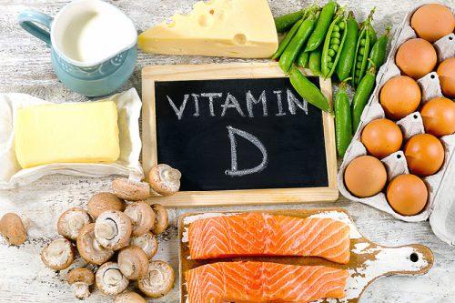 ВитаминD и продукты