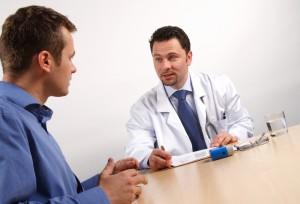 Мужчине важно рассказать врачу обо всех своих жалобах