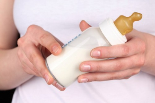 Застой молока
