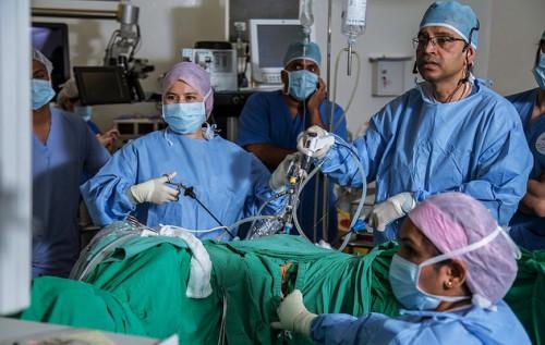 Лапароскопия операция