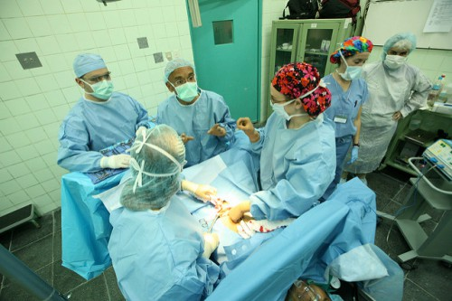 Операция миомы матки