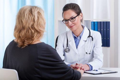 Посещение врача при климаксе