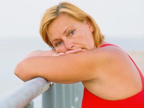 Женщина при климаксе