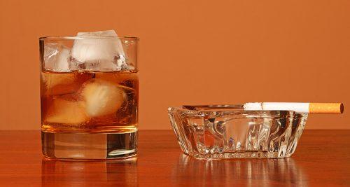 Никотин и алкоголь
