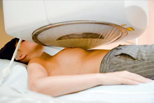 Маммография мужчины