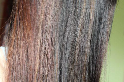 Неравномерное окрашивание волос