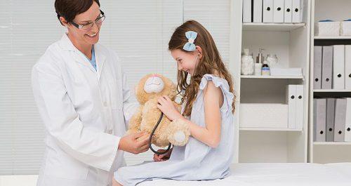 Девочка у гинеколога
