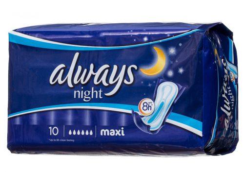 Ночные прокладки