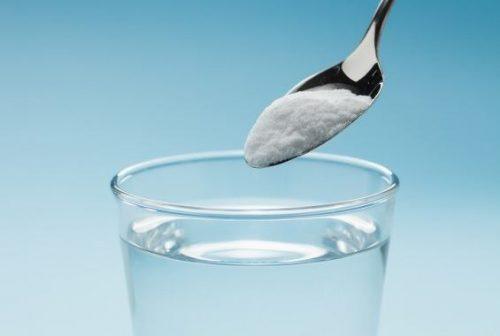 Сода в воде
