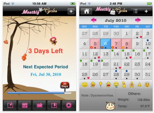 Менструальный календарь